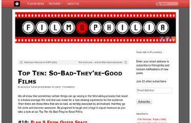 http://www.filmophilia.com/2011/09/17/top-ten-so-bad-theyre-good-films/