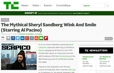 http://techcrunch.com/2010/06/04/the-mythical-sheryl-sandberg-wink-and-smile-starring-al-pacino/