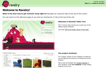 http://www.ravelry.com/tour/getting-started