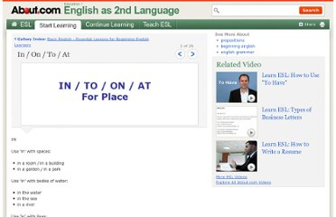 http://esl.about.com/od/beginningenglish/ig/Basic-English/Prepositions-of-Place.htm