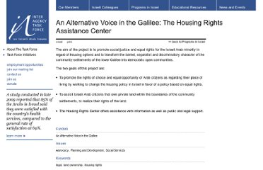 http://www.iataskforce.org/programs/alternative-voice-galilee-housing-rights-assistance-center