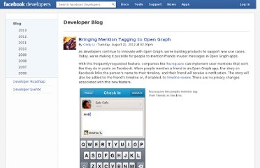 https://developers.facebook.com/blog/post/2012/08/21/bringing-mention-tagging-to-open-graph/