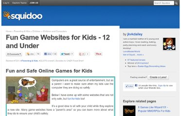 http://www.squidoo.com/game-websites-for-kids