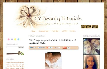 http://diybeautytutorials.blogspot.com/2011/08/diy-7-ways-to-get-rid-of-dark.html