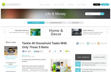 http://www.learnvest.com/2012/08/tackle-40-household-tasks-with-only-these-5-items/