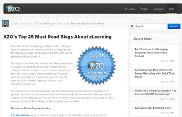 http://kzoinnovations.com/2012/08/20/kzos-top-25-must-read-blogs-about-elearning/
