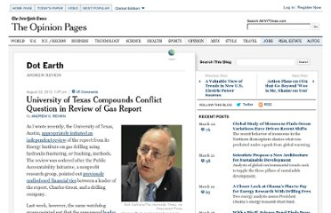 http://dotearth.blogs.nytimes.com/2012/08/22/university-of-texas-compounds-conflict-question-in-review-of-fracking-report/