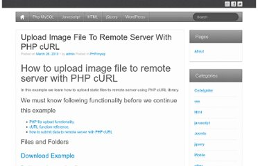 http://www.maheshchari.com/upload-image-file-to-remote-server-with-php-curl/