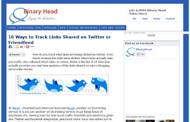 http://www.aboutonlinetips.com/how-to-track-links-on-twitter-or-friendfeed/