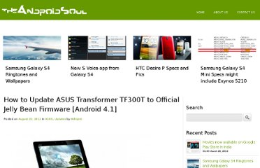 http://www.theandroidsoul.com/how-to-update-asus-transformer-tf300t-to-official-jelly-bean-firmware-android-4-1/
