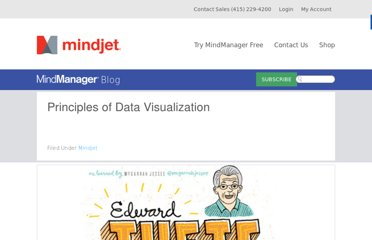 http://blog.mindjet.com/2012/01/principles-of-data-visualization/