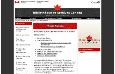 http://www.collectionscanada.gc.ca/thesescanada/index-f.html