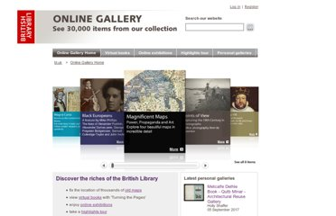 onlinegallery index html