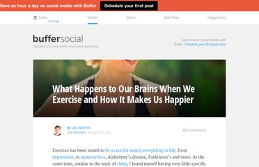 http://blog.bufferapp.com/why-exercising-makes-us-happier