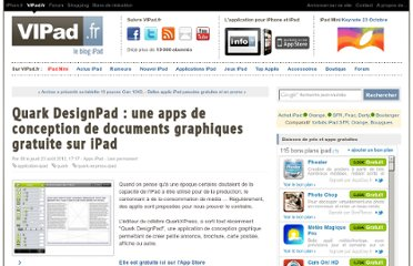 http://www.vipad.fr/post/quarkx-design-ipad