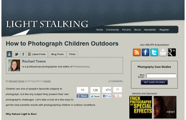 http://www.lightstalking.com/how-to-photograph-children-outdoors