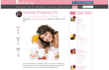 http://girlsguideto.com/article/grocery-shopping-101