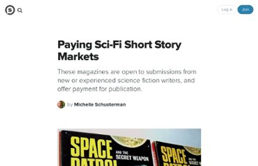 http://suite101.com/article/paying-scifi-short-story-markets-a151202