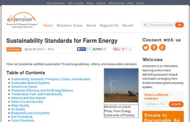 http://www.extension.org/pages/26605/sustainability-standards-for-farm-energy