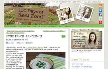 http://www.100daysofrealfood.com/2011/12/01/recipe-ranch-flavored-dip/