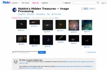 http://www.flickr.com/groups/hubblehiddentreasures_advanced