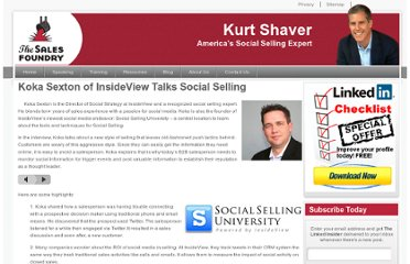 http://thesalesfoundry.com/koka-sexton-of-insideview-talks-social-selling/