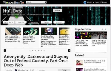http://null-byte.wonderhowto.com/inspiration/anonymity-darknets-and-staying-out-federal-custody-part-one-deep-web-0133455/