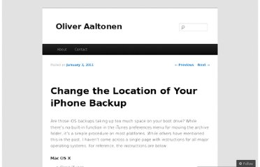 http://aaltonen.co/2011/01/03/change-the-location-of-your-iphone-backup/