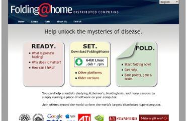 http://folding.stanford.edu/English/HomePage