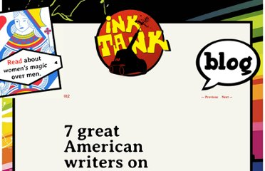 http://inktank.fi/seven-great-tips-from-seven-great-american-writers/
