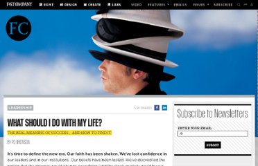 http://www.fastcompany.com/45909/what-should-i-do-my-life