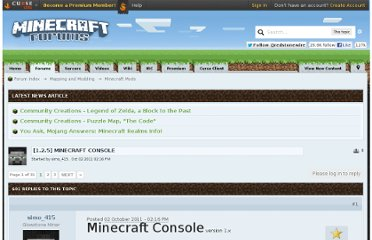 http://www.minecraftforum.net/topic/680231-125-minecraft-console/