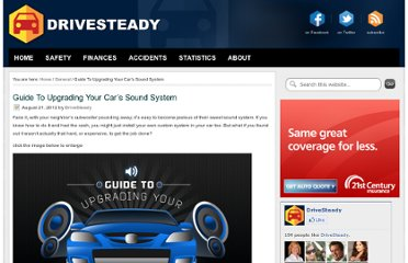 http://drivesteady.com/upgrading-your-cars-sound-system
