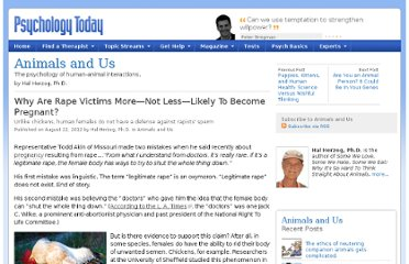 http://www.psychologytoday.com/blog/animals-and-us/201208/why-are-rape-victims-more-not-less-likely-become-pregnant