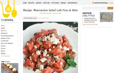 http://www.thekitchn.com/recipe-watermelon-salad-with-feta-mint-recipes-from-the-kitchn-176038
