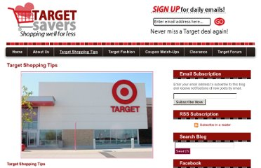 http://www.targetsavers.com/shopping-tips/