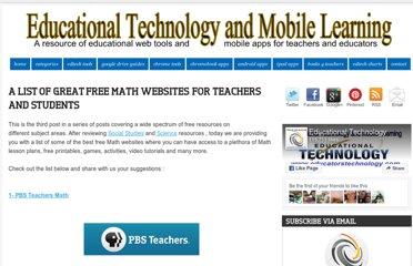 http://www.educatorstechnology.com/2012/08/a-list-of-great-free-math-websites-for.html