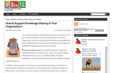 http://bsix12.com/knowledge-sharing/