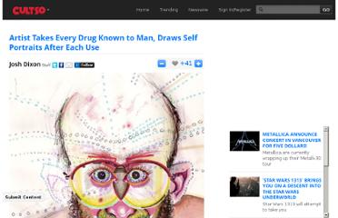http://cultso.com/artist-takes-every-drug-known-to-man-draws-self-portraits-after-each-use/