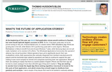http://blogs.forrester.com/thomas_husson/10-06-06-whats_future_application_stores