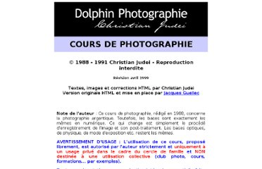 http://www.dolphin2001.net/photo/cours/cours/index.htm