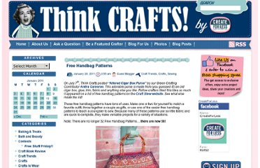 http://thinkcrafts.com/blog/2011/01/20/free-handbag-patterns/