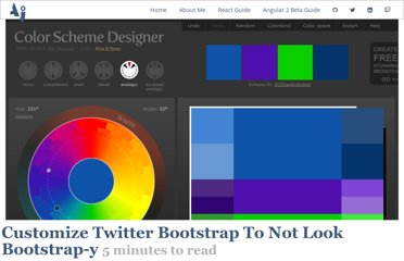 http://antjanus.com/blog/web-design-tips/user-interface-usability/customize-twitter-bootstrap-into-themes/