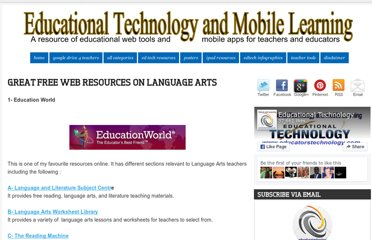 http://www.educatorstechnology.com/2012/08/great-free-web-resources-on-language.html