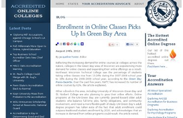 http://www.accreditedonlinecolleges.com/blog/2012/enrollment-in-online-classes-picks-up-in-green-bay-area/