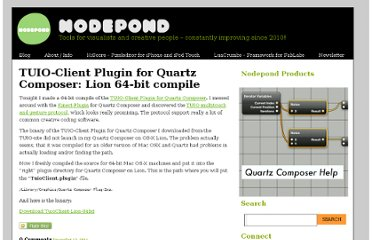 http://www.nodepond.com/blog/289-tuio-client-plugin-for-quartz-composer-lion-64-bit-compile