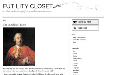 http://www.futilitycloset.com/category/art/page/2/