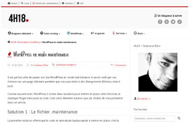 http://4h18.com/wordpress-en-mode-maintenance/