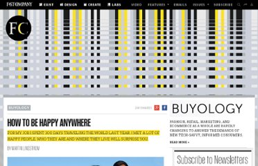 http://www.fastcompany.com/1820974/how-be-happy-anywhere
