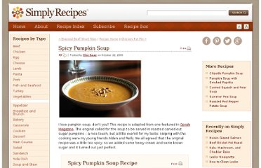 http://www.simplyrecipes.com/recipes/spicy_pumpkin_soup/